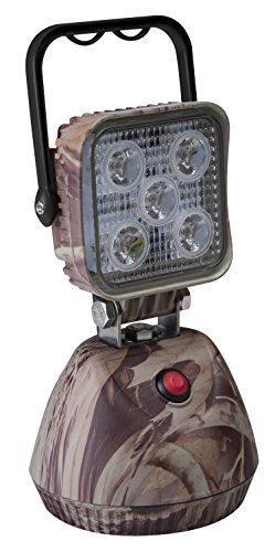 Ecco Ew2461 Camoflage Work Light 12 24vdc Led 600 Lumens White Flood Magnetic Base Battery Pack Comes With A C D C Chargers Work Lights Led Work Light Flood