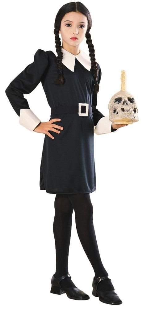 Photo of Addams Family Wednesday Kids Costume Medium 8-10
