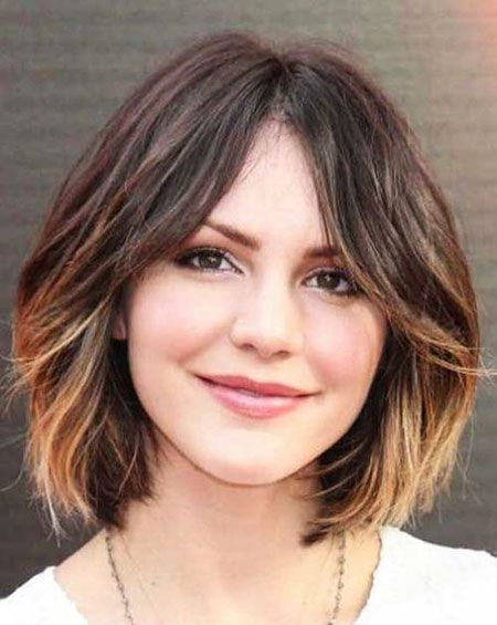 Pin By Julia Holewa On Haarkatastrophe Hair Styles Short Ombre Hair Haircuts For Wavy Hair