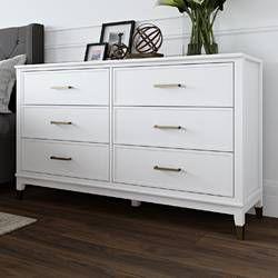 Westerleigh 1 Drawer Nightstand Dresser Decor Double Dresser Furniture