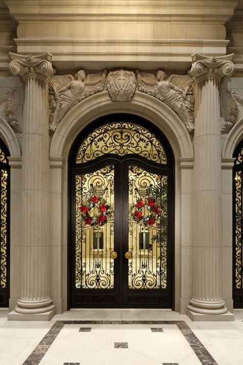18+ Elegant Double Doors Designs for Your Classy Home
