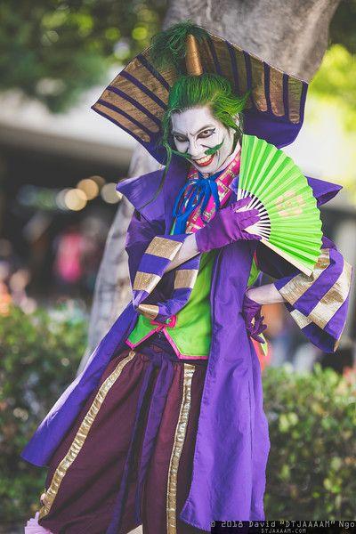 Joker Cosplay From Batman Ninja Anime Expo 2018 Dtjaaaam Best Cosplay Anime Expo Cosplay