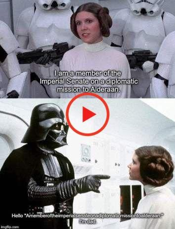 Funny Star Wars Memes Perfect For May The Fourth In 2020 Star Wars Humor Star Wars Memes Funny Star Wars Memes