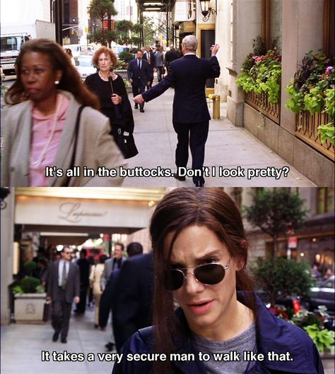 It's all in the buttocks ~ Miss Congeniality (2000) ~ Movie Quotes #amusementphile