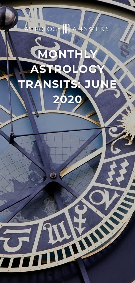 What do the stars have in store for June 2020? Find out in this monthly astrology transit overview! #juneastrology #astrology #astrologyanswers #transits