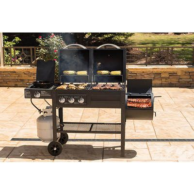 Smoke Hollow Gas And Charcoal Grill Black Bjs Wholesale Club Gas And Charcoal Grill Grilling Bjs Wholesale