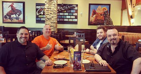 Great lunch meeting with @aaronzsmith #ygtg @stevesanchezofficial @producernateofficial #lasvegas #vegas #realestate #marketing #sales #advertising #radiomarketing #radioshow #radio #onairpersonality #lasvegasrealestate #buysellrent #sincity #branding #brandawareness