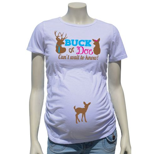 848d52917ff9f Buck or Doe! Use whichever onesie fits the gender you need. Perfect for the gender  reveal photo shoot or party!