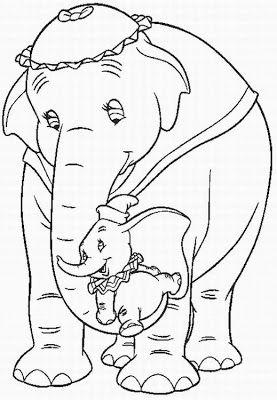 Magic Colour Pencil Dumbo Coloring Pages Disegni Da Colorare