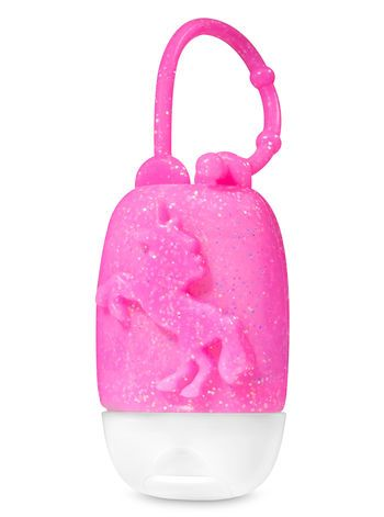 Pink Glittery Unicorn Pocketbac Holder In 2020 Hand Sanitizer