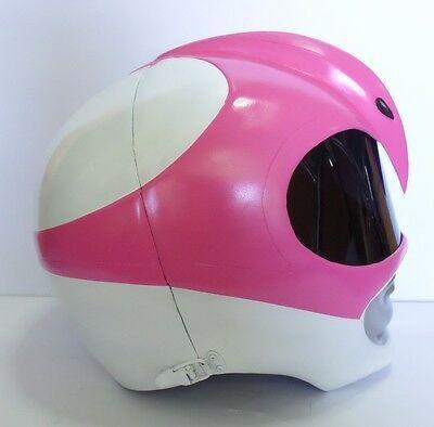 Super Ranger Color Pink Hero Power Man Costume Helmet