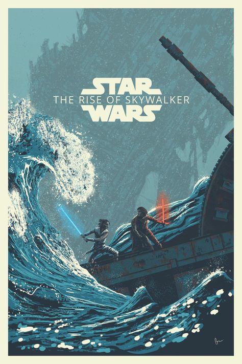 Valar Morghulis Star Wars the Rise of Skywalker poster by Derek Payne Star Wars Fan Art, Rey Star Wars, Film Star Wars, Star Trek, Valar Morghulis, Images Star Wars, Star Wars Pictures, Poster Drawing, Poster Art