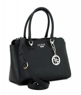 Guess Alma Society Satchel schwarz Henkeltasche Bags