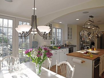 Highly Considering Open Concept Knock Down Wall Between Kitchen And Dining Room Replace Sliding Doors With French
