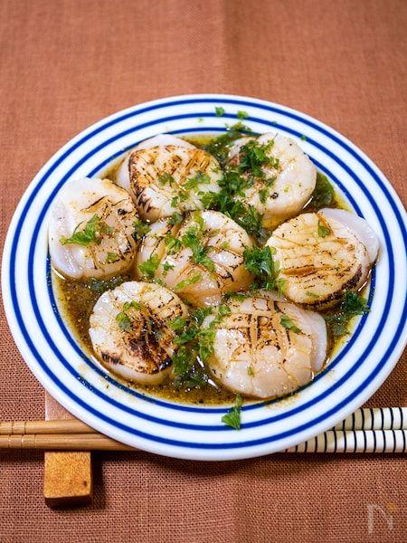 刺身 レシピ ホタテ