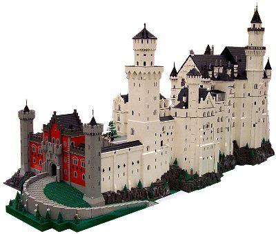 Schloss Neuschwanstein Von Bob Carney Carney Neuschwanstein Schloss Lego Design Schloss Neuschwanstein Lego Bauen