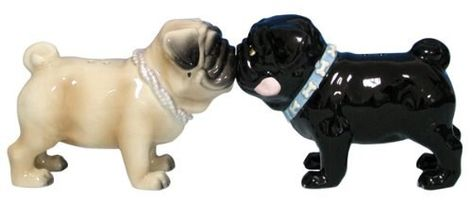Spice up your dining room with these salt and pepper shakers.   Community Post: 19 Perfect Gifts For The Pug Lover In Your Life