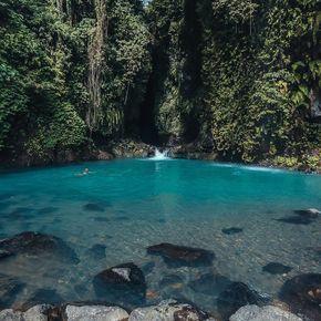 """Secret garden lagoon, Sambangan, Bali: 8°10'29.9""""S 115°06'22.1""""E"""
