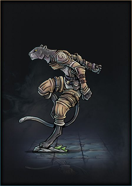 Tabaxi Monk 01 Printableheroes Fantasy Character Design Dnd Art Concept Art Characters Here's a youtube video of the process: pinterest