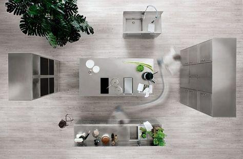 Cucine Abimis Prezzi Cerca Con Google Cucina In Acciaio Inox Design Cucina Professionale