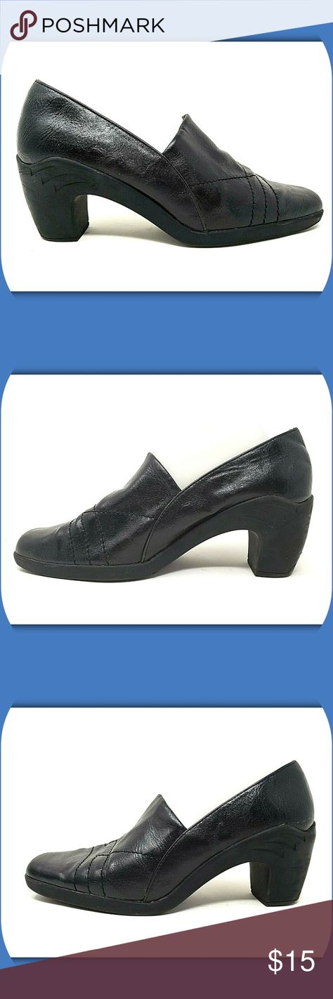 A2 AEROSOLES Hot Sawce Heeled Loafers A2 AEROSOLES WOMEN'S HEELED LOAFERS  Style: Hot Sawce Color: Black Size: 9.5 M Heel Height: 2-3/4
