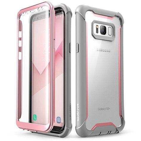 Samsung Galaxy S8 Plus Hulle I Blason Ganzkorper Robusten Klar Stossfanger Mit Eingebautem Display Schutz Fur Samsung Gal Samsung Galaxy Note 8 Samsung Handy