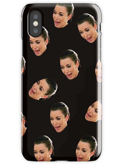 Crying Kim Kardashian iPhone X Snap Case