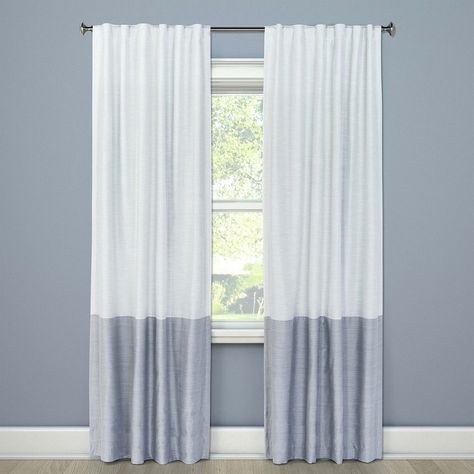 Blackout Curtain Panel Color Block Gray 108 Project 62