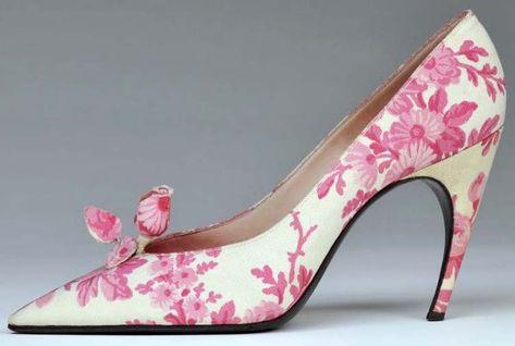 Roger Vivier - Christian Dior - Escarpins 'Bouton de Rose' - 1959