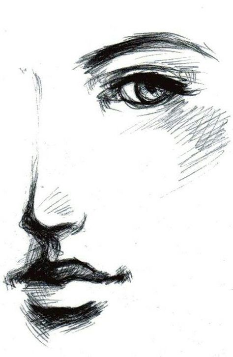 Image result for side profile face woman sketch #faceprofiledrawing