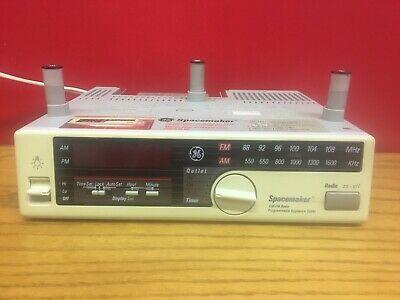 Ebay Link Ge Spacemaker Under Cabinet Am Fm Radio 7 4230a Clock