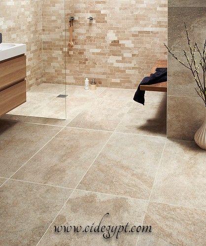 Egyptian Limestone Beige Tile Bathroom Tiles For Bathrooms Beige Tile Bathroom Trendy Bathroom Tiles Bathroom Chandelier