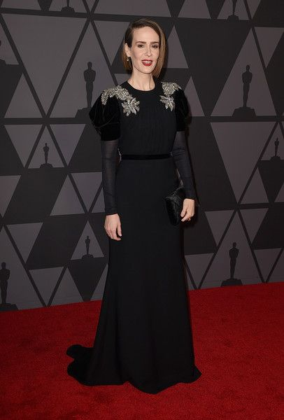 Sarah Paulson attends the Academy of Motion Picture Arts and Sciences' 9th Annual Governors Awards at The Ray Dolby Ballroom.