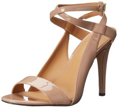 947cc7946f Calvin Klein Women's Meville Dress Sandal, Shara Blush, 5.5 M US