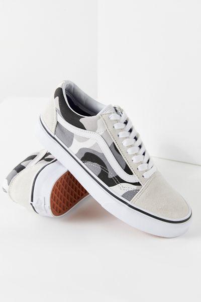 Vans \u0026 UO Snow Camo Old Skool Sneaker