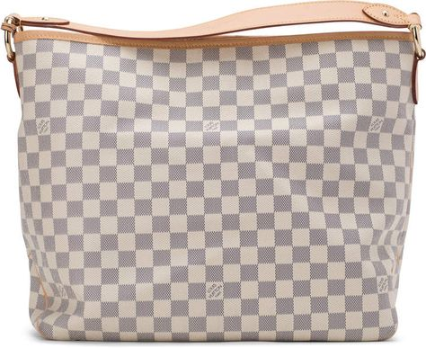 80120eae6260 Louis Vuitton Delightful Damier Azur Rose Ballarine MM Ivorie Grey ...