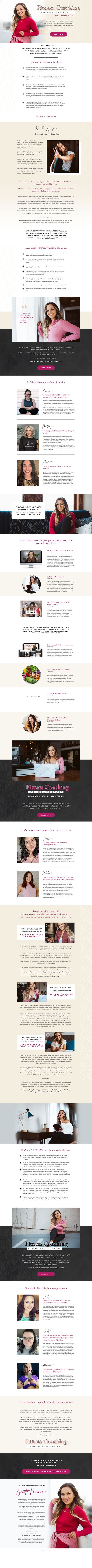 Lynette Marie FCBA Sales Page