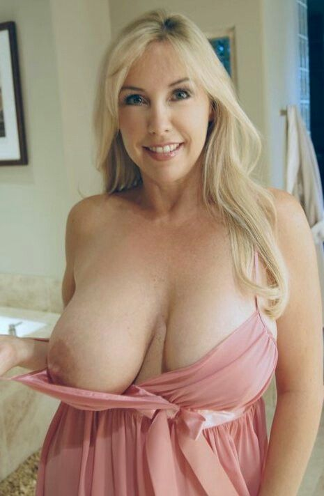 Mature beautiful breats