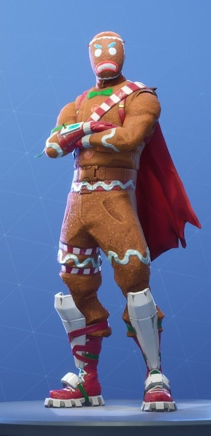 Fortnite Non Stacked Christmas Skin Account With Ginger Bread Man And Candy Axe Bread Man Gingerbread Fortnite