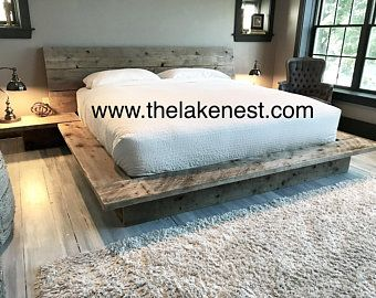 Kristopher Storage Bed Wood Platform Bed Wood Bed Frame Wood Beds