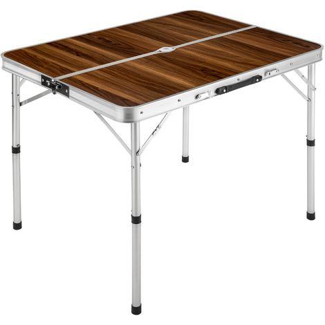 Table Pliante De Camping Valise 91 Cm X 675 Cm X 705 Cm