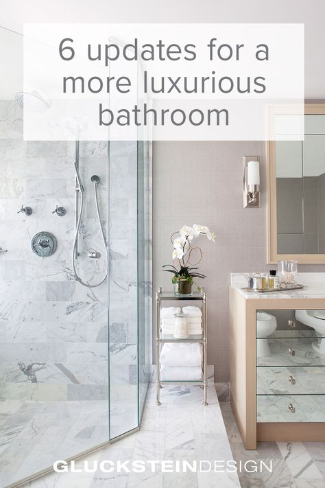 6 Updates for a More Luxurious Bathroom   Open concept ...
