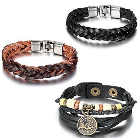 Aroncent 3PCS Herren Damen Armband, Leder Legierung Holz,... https://www.amazon.de/dp/B01DF3P6WA/ref=cm_sw_r_pi_dp_HLMuxbMA4AWKZ