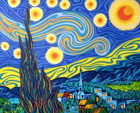 22 Ideas De La Noche Estrellada Van Gogh En 2021 Noche Estrellada Van Gogh Pinturas De Van Gogh