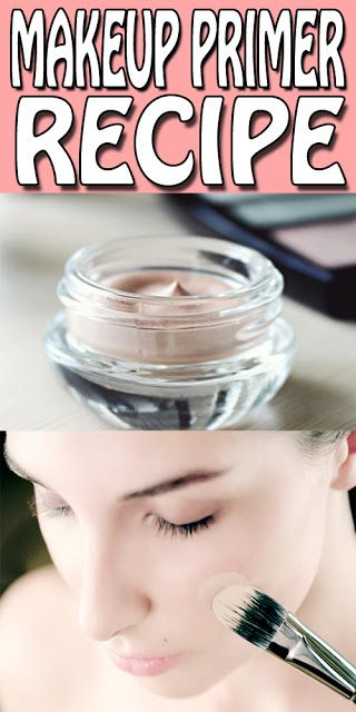 diy makeup primer recipe's only for you. stop using those chemical based primers and make your own all natural face primer at home in just 15 minutes.