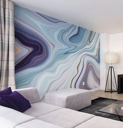 Marbled Ink Wall Mural Wall Mural at AllPosters.com