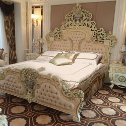 ffea1a22b08e Luxury French Style and Italian Style Hand Carved Bed(id 5187631) Product  details - View Luxury French Style and Italian Style Hand Carved Bed from  ODMK ...