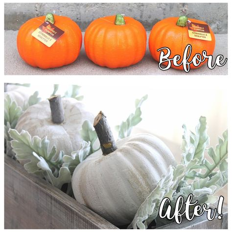 Dollar Store Pumpkin Makeover Dollar Store Pumpkin Makeover The post Dollar Store Pumpkin Makeover appeared first on Halloween Decorations. Dollar Tree Decor, Dollar Tree Crafts, Dollar Tree Halloween Decor, Dollar Tree Pumpkins, Dollar Tree Fall, Dollar Store Halloween, Diy Halloween, Farmhouse Halloween, Christmas Planner
