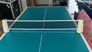 Comment Fabriquer Une Table De Ping Pong Tuto Faire Une Table De Ping Pong Table De Ping Pong Ping Pong Comment Fabriquer Un