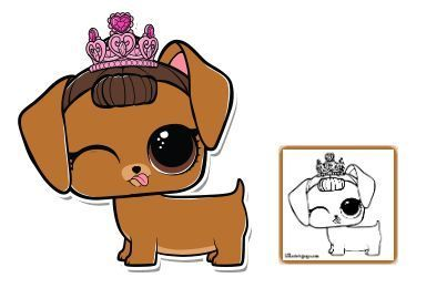 Pin By Robin Marks On Lola Lol Dolls Dog Coloring Page Dolls